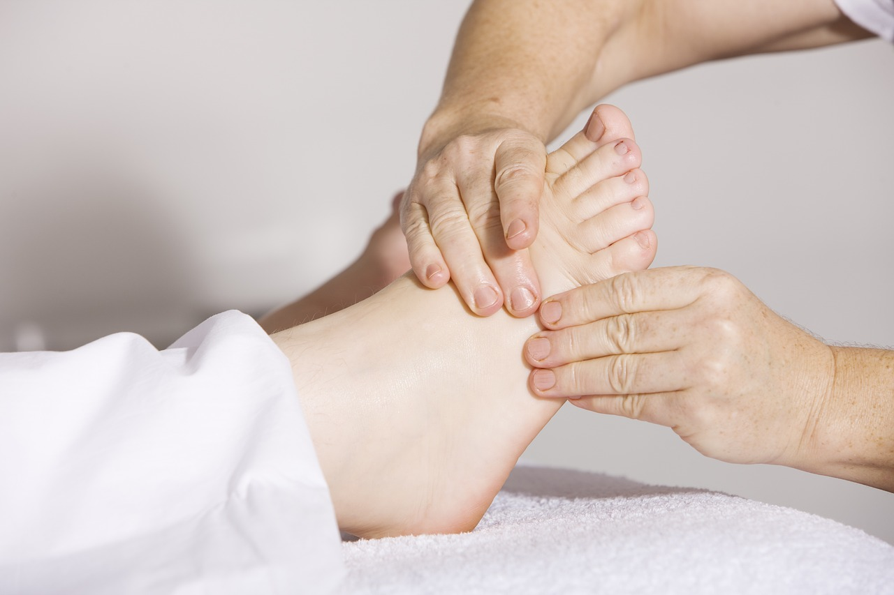 Praxis für Ergotherapie - Fußreflexzonentherapie